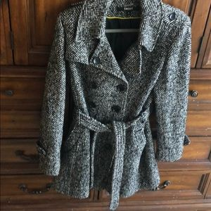 DKNY mid length winter coat